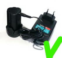 Зарядное устройство для шуруповёрта
